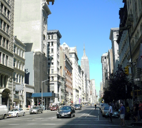 Academy is Located in the heart of the Flatiron District in Manhattan on 18th street between 5th and 6th aves.