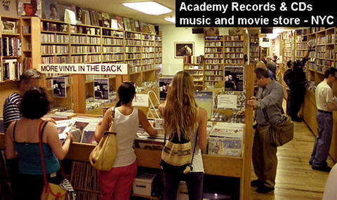 academy records and cds nyc