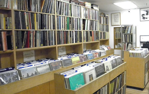 classical record store in nyc